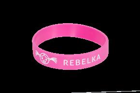 Náramek na ZDRAVOU LAHEV Rebelka - růžový    Kód výrobku: RNZLR05  Cena: 49,- Kč
