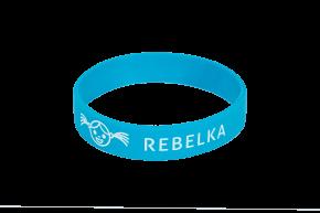 Náramek na ZDRAVOU LAHEV Rebelka - modrý    Kód výrobku: RNZLMena: 49,- Kč