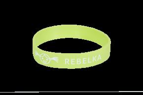 Náramek na ZDRAVOU LAHEV Rebelka - zelený    Kód výrobku: RNZLZ02  Cena: 49,- Kč