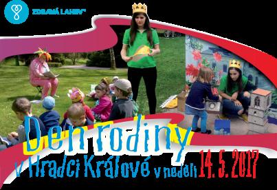 Den rodiny 14.5.2017 v Hradci Králové