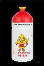 Zdravá lahev Pomozte dětem 0,5l  Kód výrobku:V050238 Cena: 219,- Kč/ 9€
