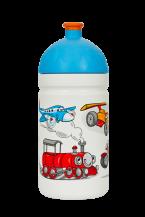 NOVINKA Zdravá lahev Veselá jízda 0,5l  Kód výrobku: V050302 Cena: 209,- Kč / 8,50€