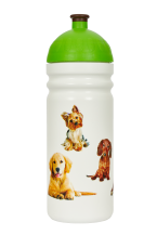 NOVINKA Zdravá lahev Psi 0,7l  Kód výrobku: V070601 Cena: 229,- Kč / 9,50€